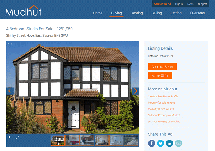Advertise Rental Property On Rightmove For Free Mudhut